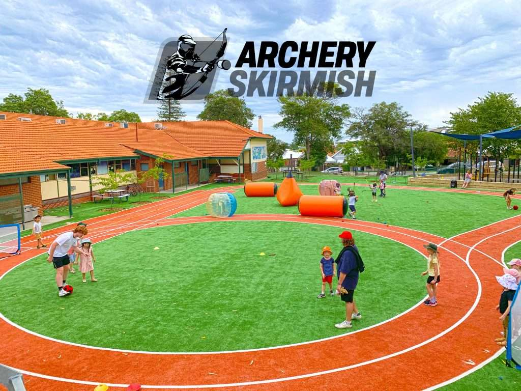 Archery Skirmish Vacation Care Booking Perth