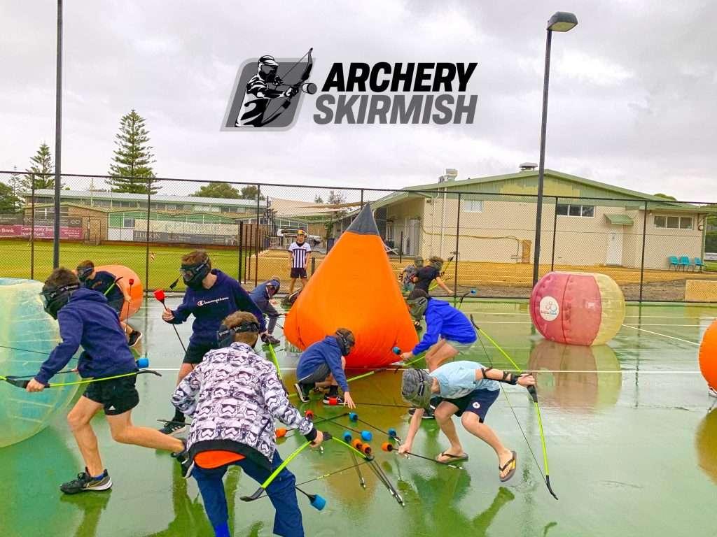 Archery Skirmish Birthday Party