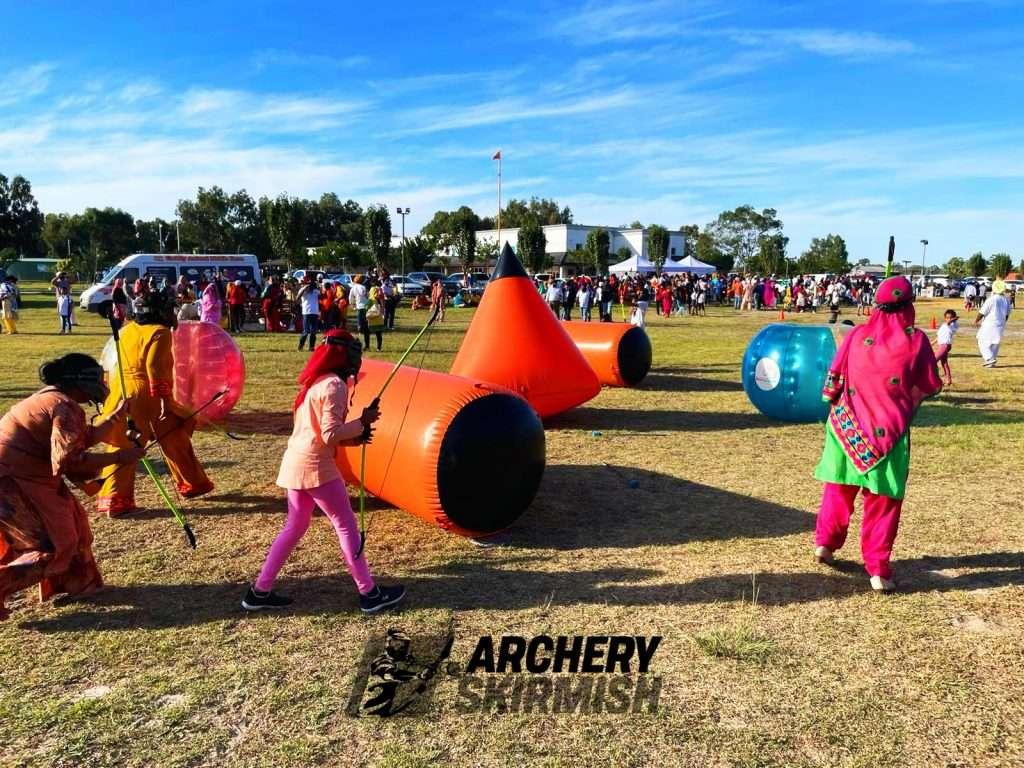 Archery Skirmish Sikh Event